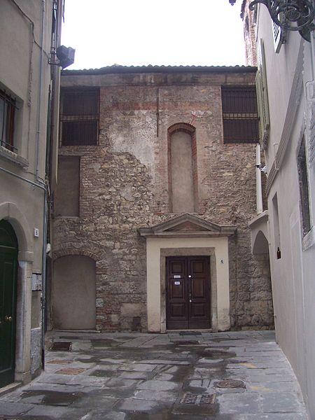 Ingresso della sede Ucai di Brescia